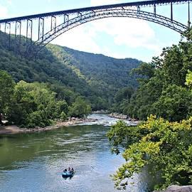 Beverly Canterbury - Rafting in West Virginia