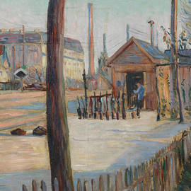 Railway Junction Near Bois-Colombes  - Paul Signac