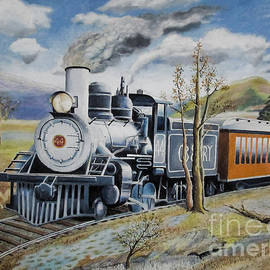 Gerald Ziolkowski - Railway Steam  Engine 44