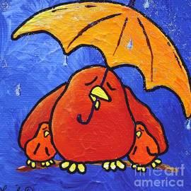 LimbBirds Whimsical Birds - Rain Rain Go Away