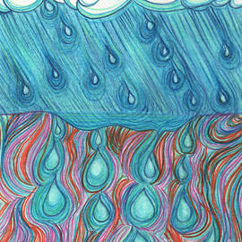 First Star Art - Rain Saturation by jrr