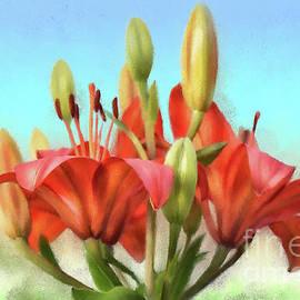 Lois Bryan - Rainbow Lilies