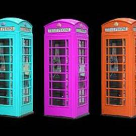 Rainbow of London Phone Booths Tee - Edward Fielding