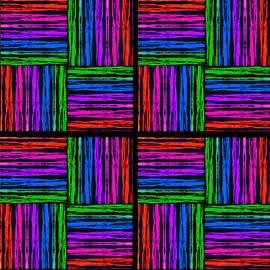Bruce Nutting - Rainbow Sunset Collage