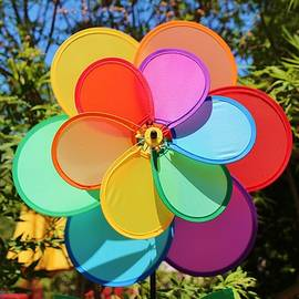 Cynthia Guinn - Rainbow Wind Spinner