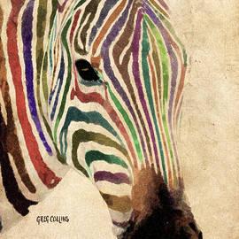 Greg Collins - Rainbow Zebra