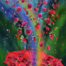 Carol Cavalaris - Raining Roses 2