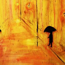 Ken Figurski - Rainy Day in Gold
