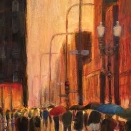 Will Germino - Rainy Evening Chicago