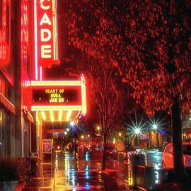 Marnie Patchett - Rainy Night Reflections