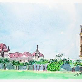 Keshava Shukla - Rajabai Clock Tower and Bombay High Court