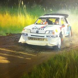 Devon Packwood - Rally of New Zealand 1985