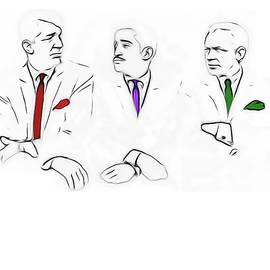 Nicholas Romano - Rat Pack Minimal Sketch 1
