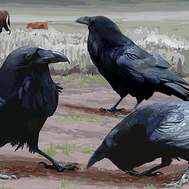 Pam Little - Raven Gathering