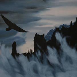 Stanza Widen - Raven Wolf Head