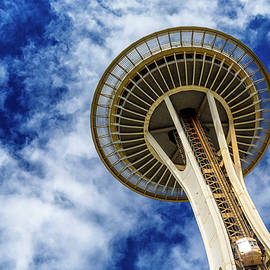 Stephen Stookey - Reach for the Sky - Seattle Space Needle