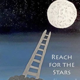 Jilian Cramb - AMothersFineArt - Reach for the Stars