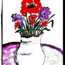 Marsha Heiken - Red and Purple Still Life