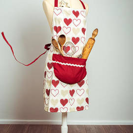 Red Baking Apron - Amanda And Christopher Elwell
