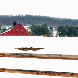 Geoffrey Coelho - Red Barn and Fence