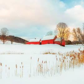 John Vose - Red Barn Farm Winter