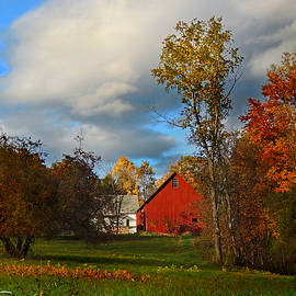 Nancy Griswold - Red Barn in Piermont New Hampshire