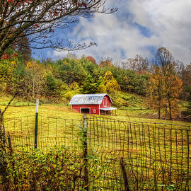 Debra and Dave Vanderlaan - Red Barn in the Pasture