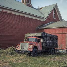 Red Barn Red Truck - Edward Fielding
