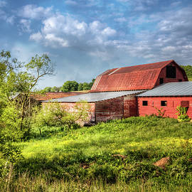 Debra and Dave Vanderlaan - Red Barns at Sunrise