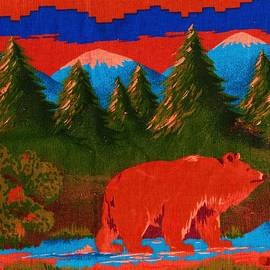 Anne-elizabeth Whiteway - Red Bear Seeing What He Could See