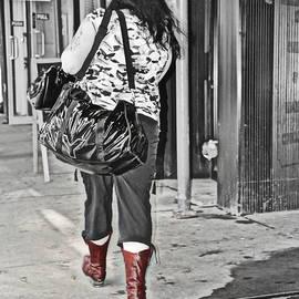 Sue Rosen - Red Boots