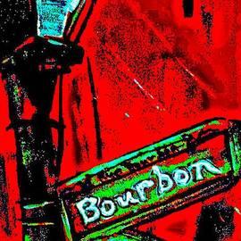 Paula   Baker - Red Bourbon Brings On Green