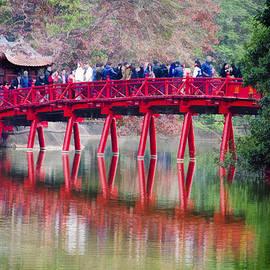 Claude LeTien - Red Bridge Hoan Kiem Lake