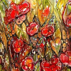 Shirley Sykes Bracken - Red Buds