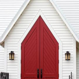 Ella Kaye Dickey - Red Chapel Door