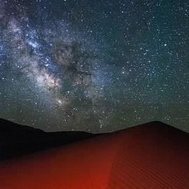 Cat Connor - Red Dunes at Night