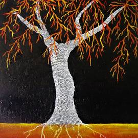 Yolanda Caporn - Red Earth Tree