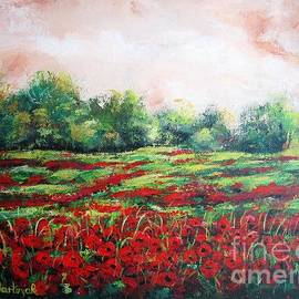Vesna Martinjak - Red field I