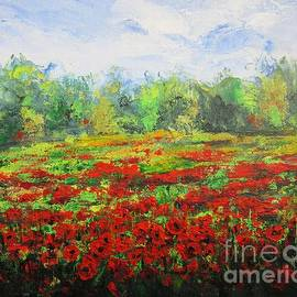 Vesna Martinjak - Red field