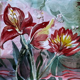 Mindy Newman - Red Flora