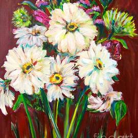Catherine Gruetzke-Blais - Red Floral