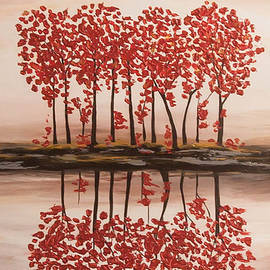 Nikki Chauhan - Red Forest