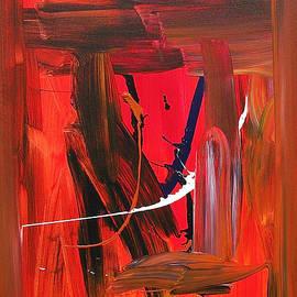 Joseph Matose - Red Free Fall, 2011