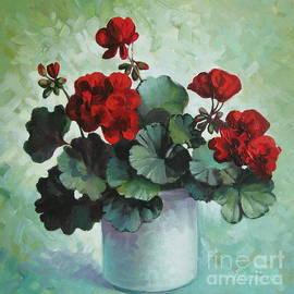Elena Oleniuc - Red geranium