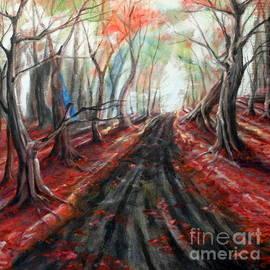 Ida Eriksen - Red leaves