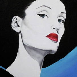 Lillian Bell - Red lips
