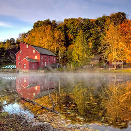 Geraldine Scull - Red Mill in Clinton New Jersey series