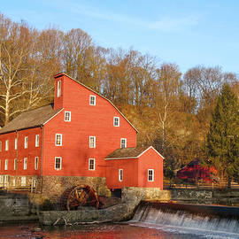 Dustin Farnum - Red Mill in Spring