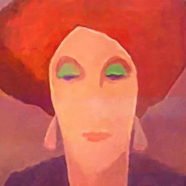 Red Mood Woman - Lutz Baar