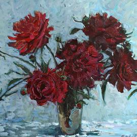 Juliya Zhukova - Red piones